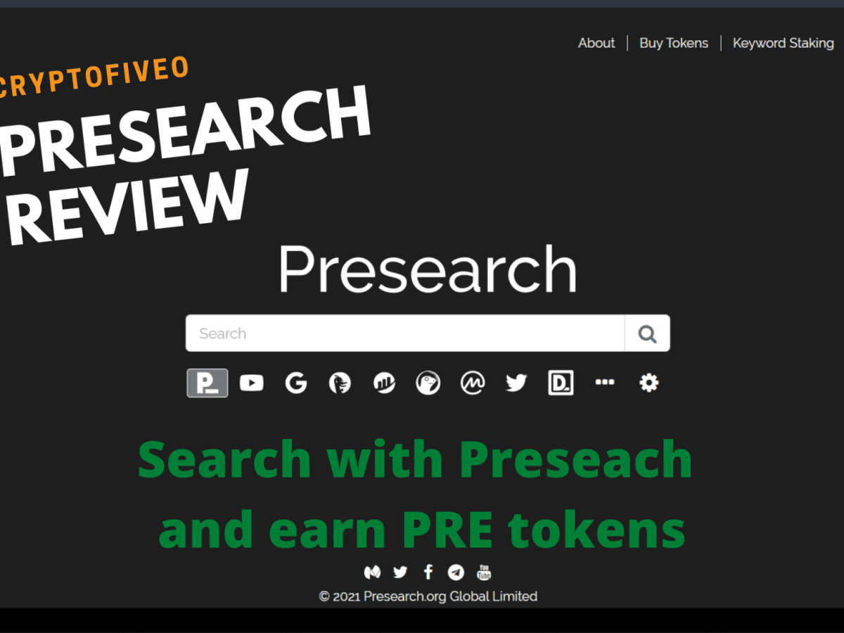 Presearch review