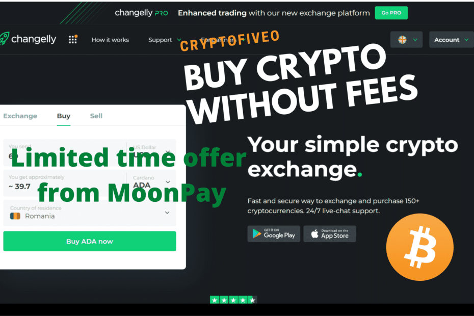 Buy crypto without fees