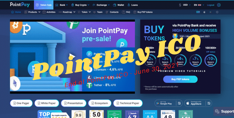 PointPay ICO - Buy PXP tokens