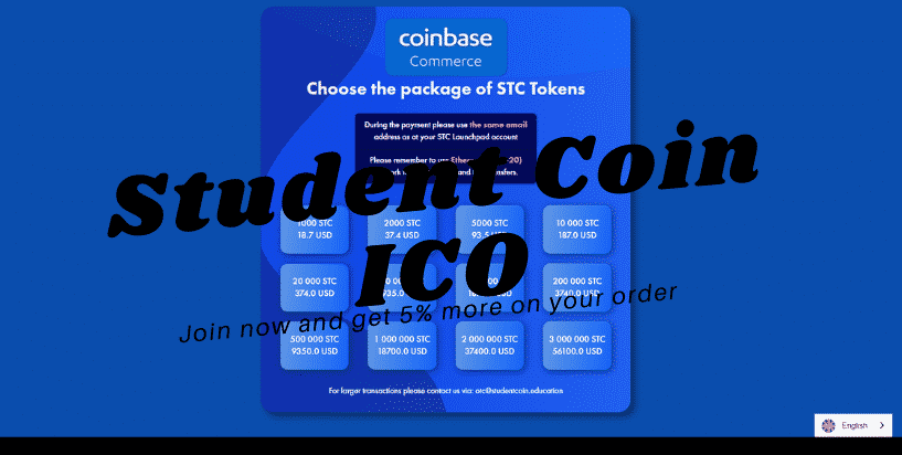 Student Coin ICO