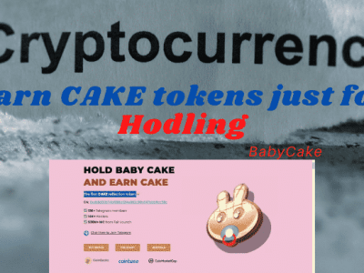 Earn Cake crypto by holding your BabyCake tokens